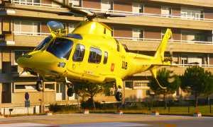 elicottero 118 case decollo