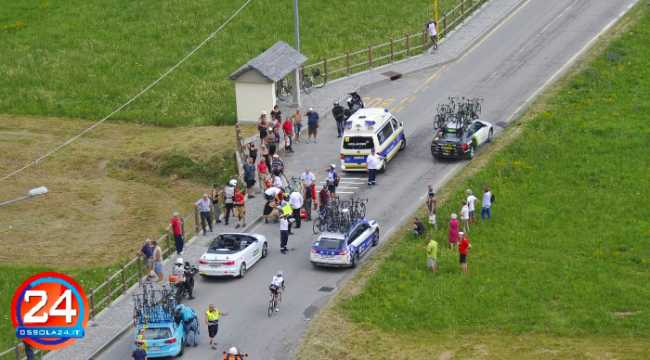 incidente tour de suisse